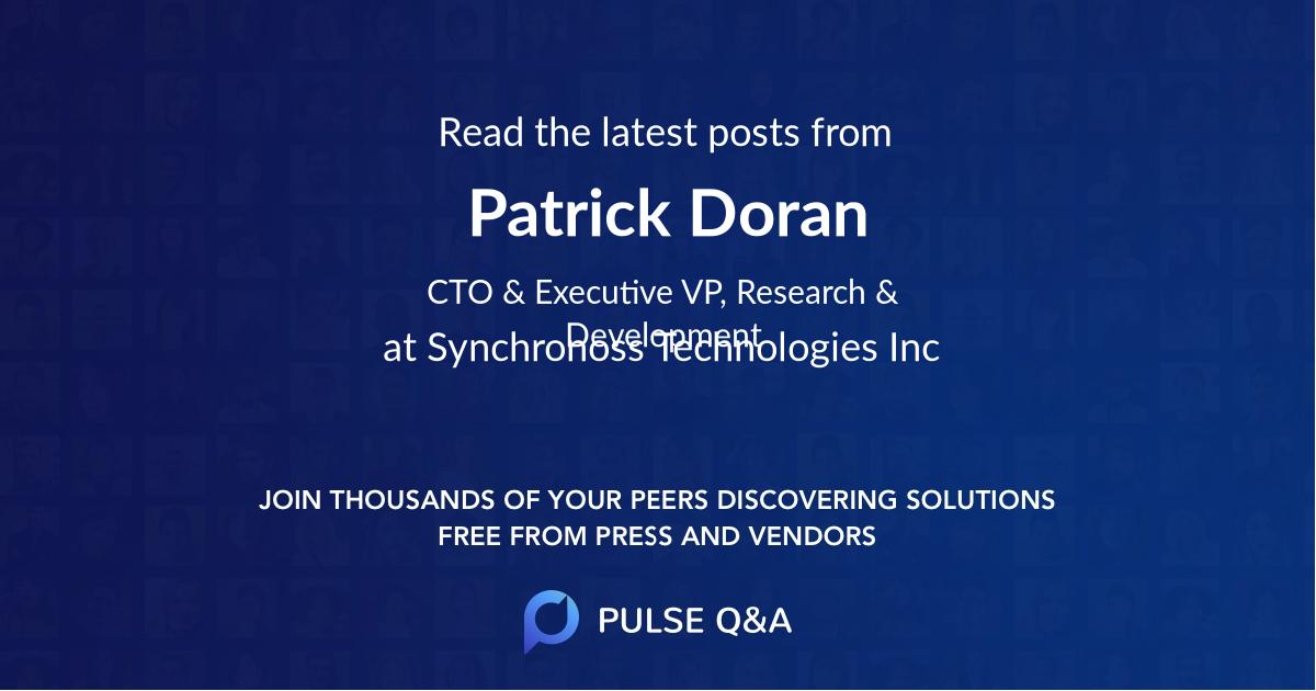 Patrick Doran