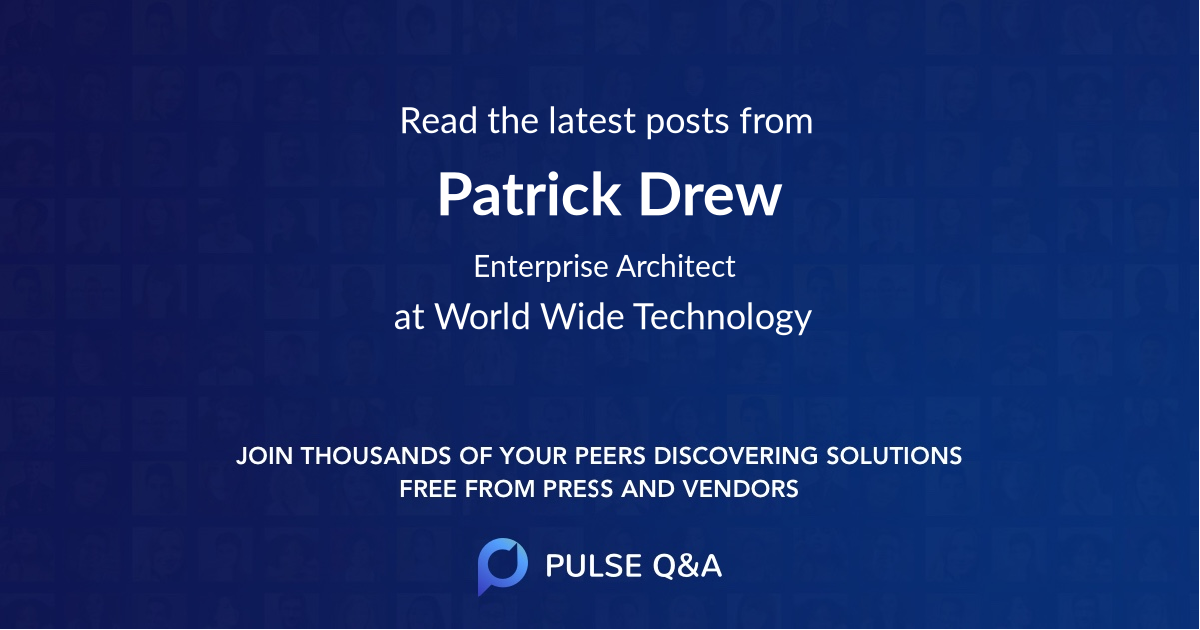 Patrick Drew