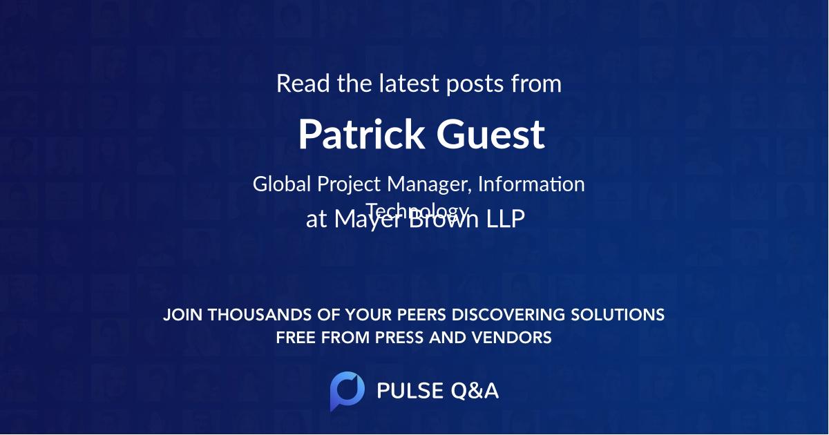 Patrick Guest