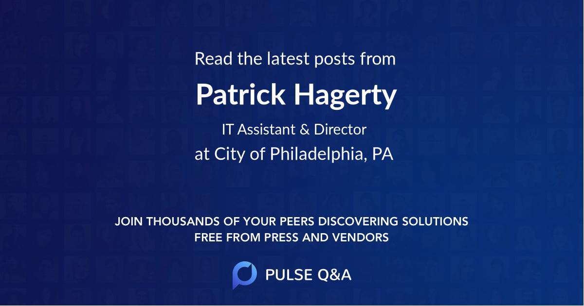 Patrick Hagerty