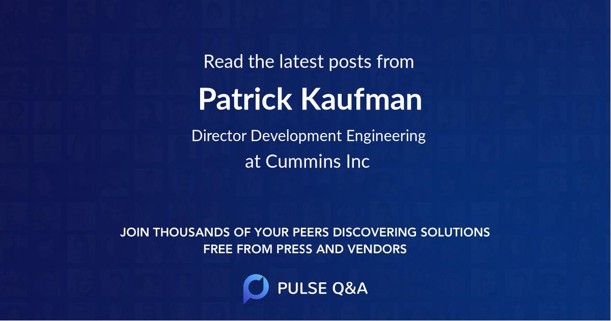 Patrick Kaufman