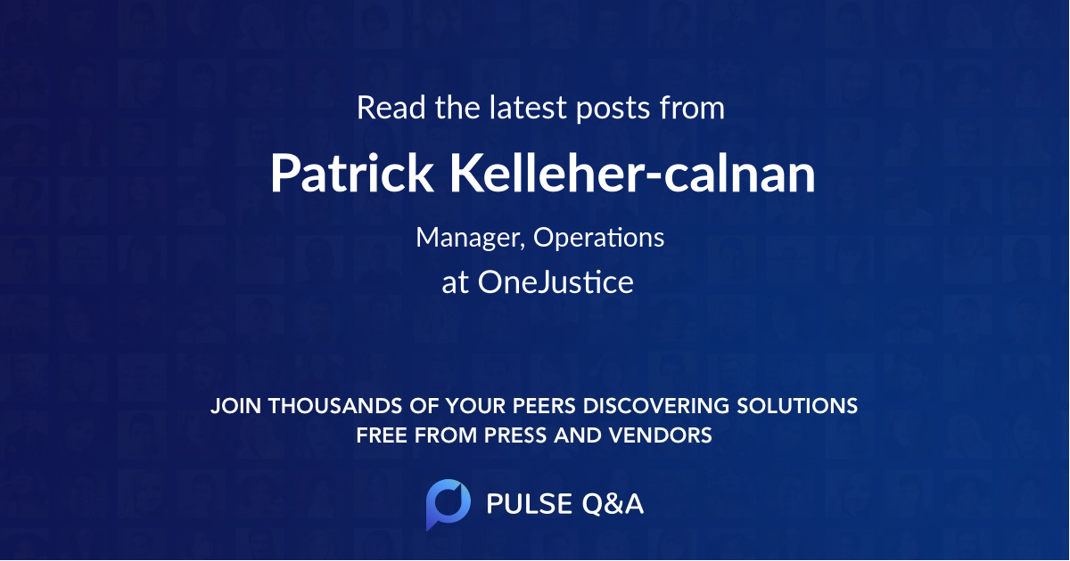 Patrick Kelleher-calnan