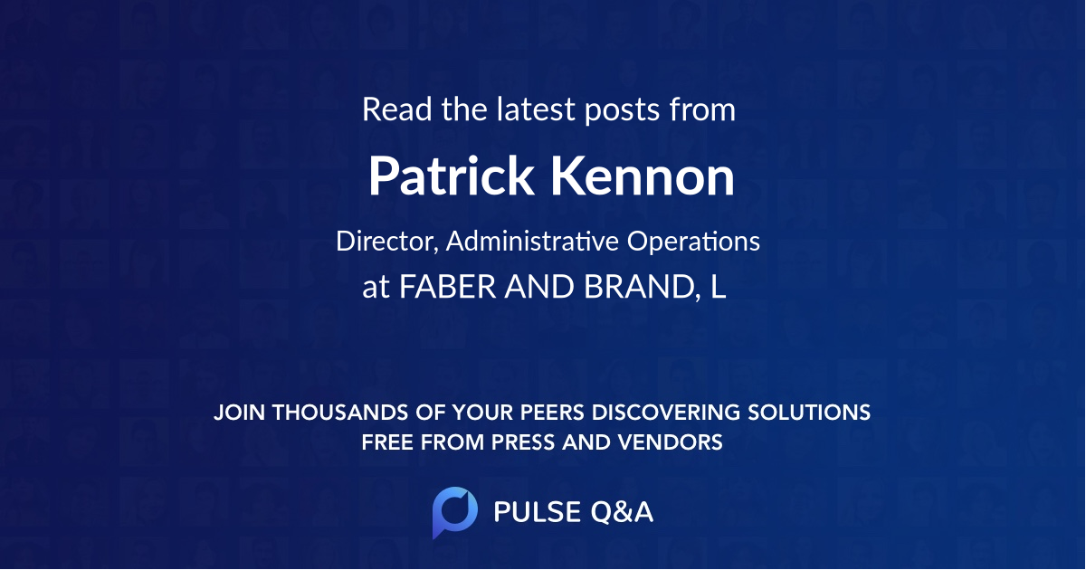 Patrick Kennon