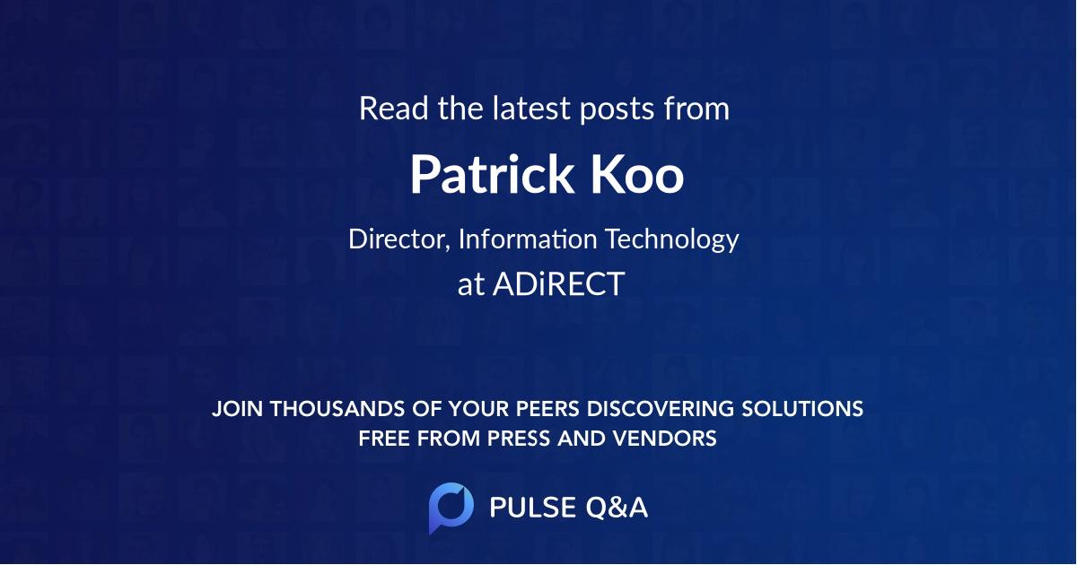 Patrick Koo