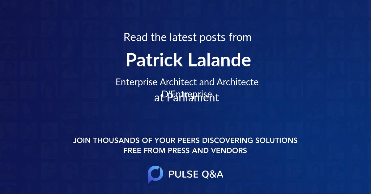Patrick Lalande