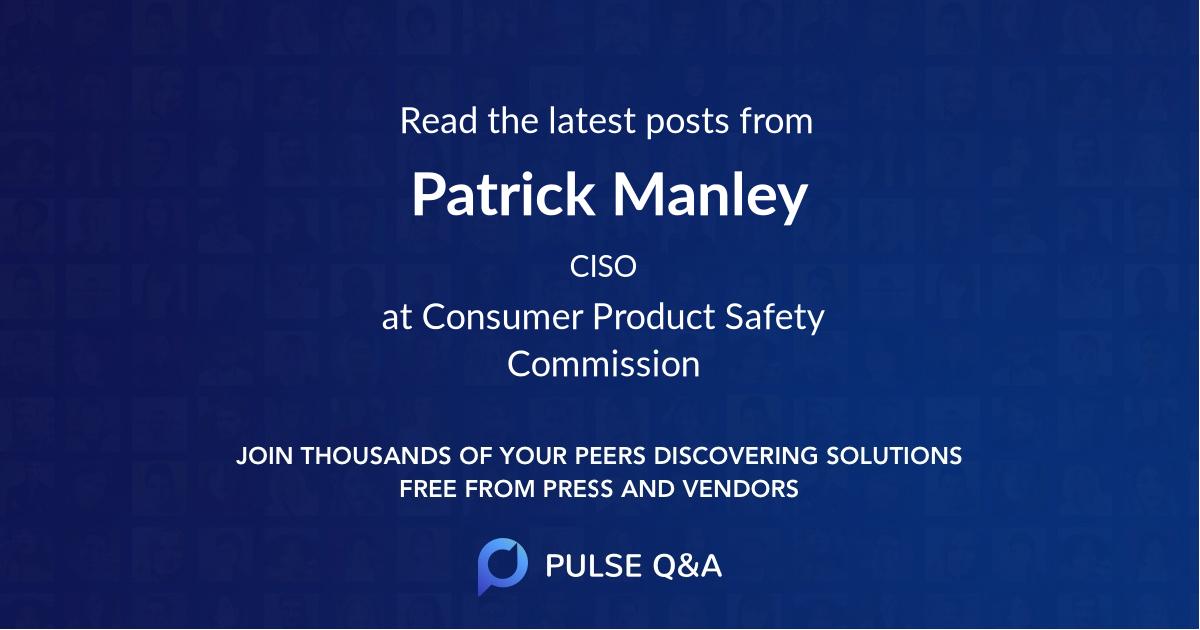 Patrick Manley