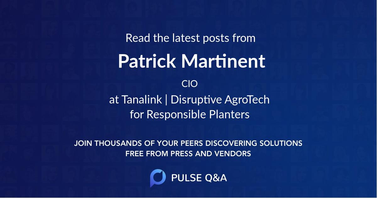 Patrick Martinent