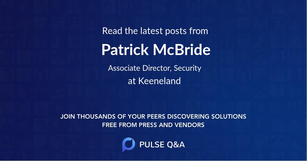 Patrick McBride