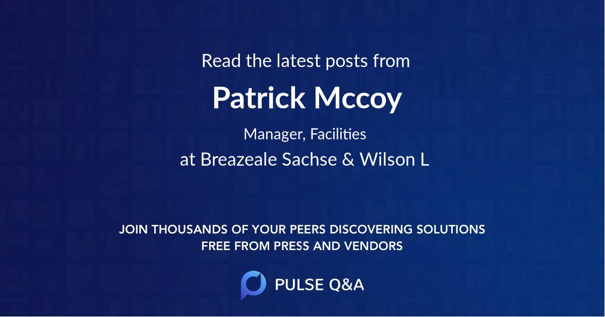 Patrick Mccoy
