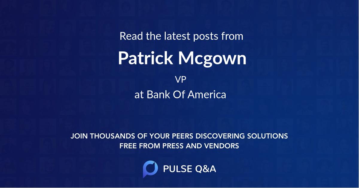 Patrick Mcgown