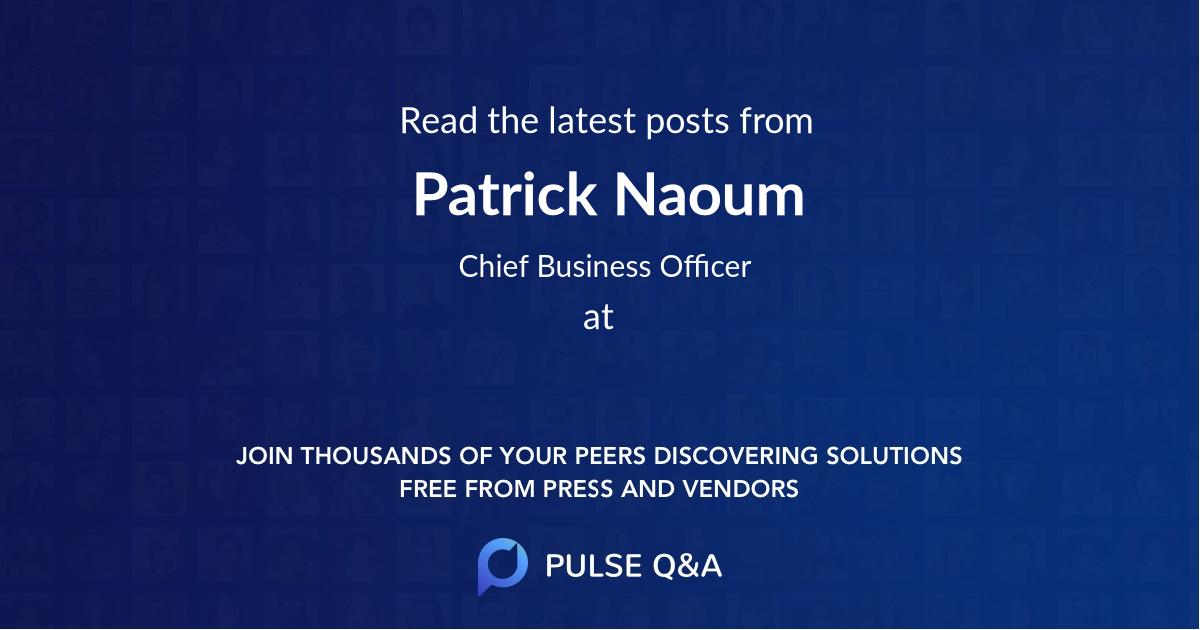Patrick Naoum