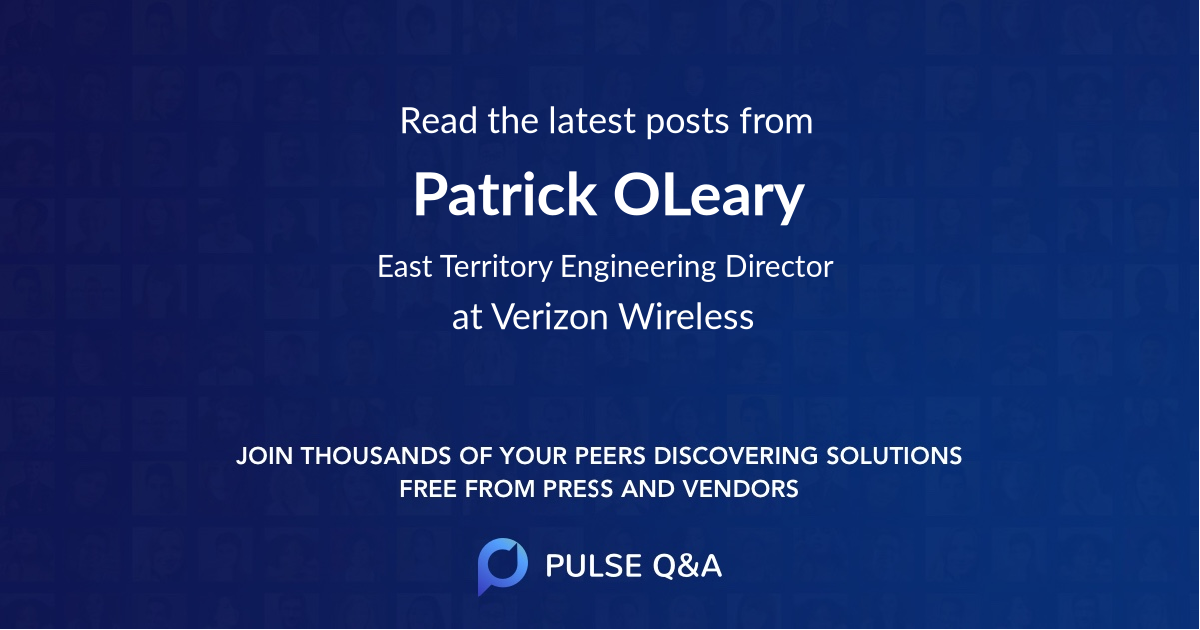 Patrick OLeary