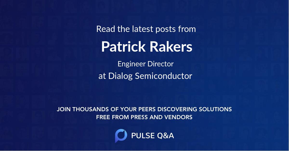 Patrick Rakers