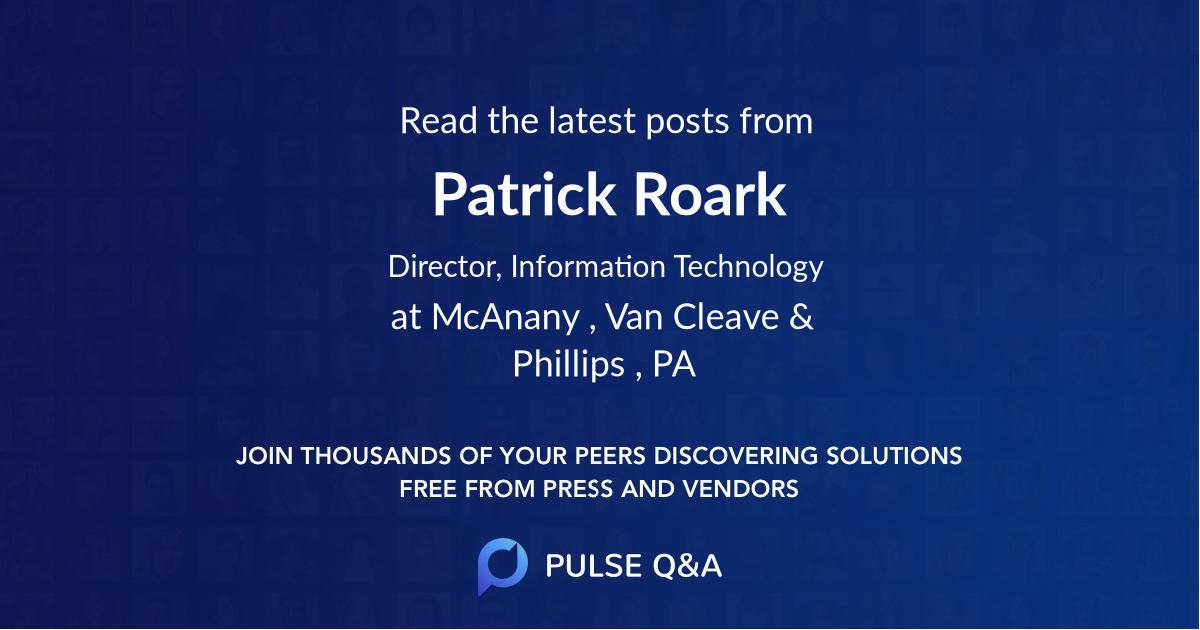 Patrick Roark