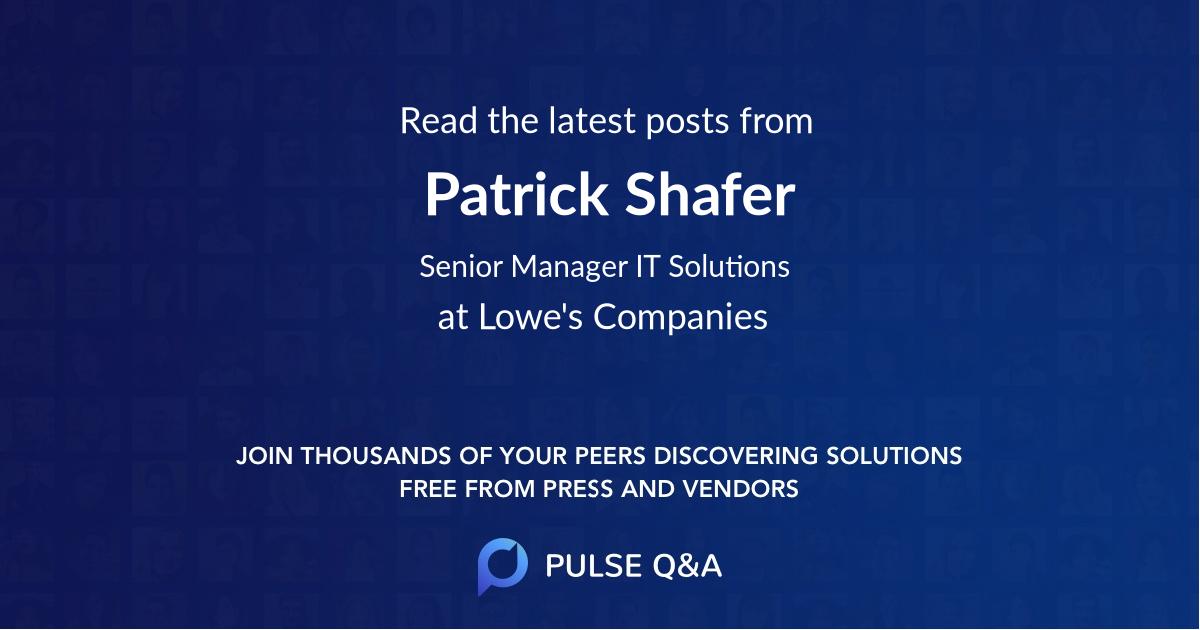 Patrick Shafer