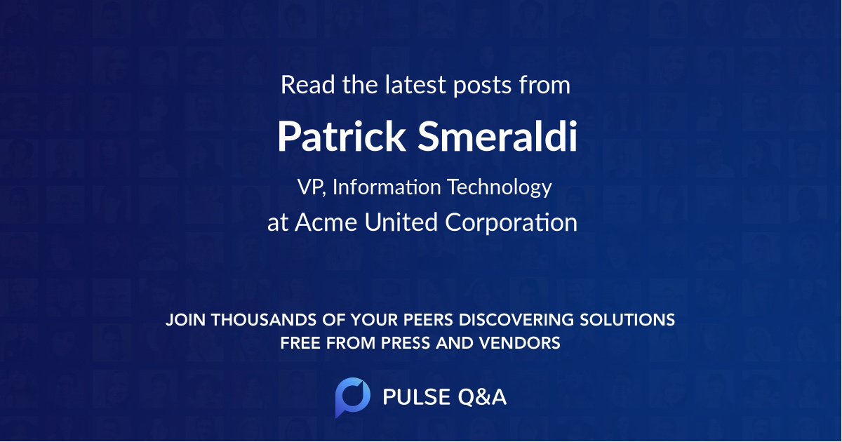 Patrick Smeraldi