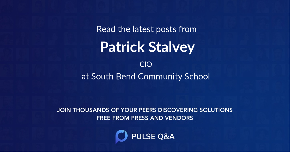 Patrick Stalvey