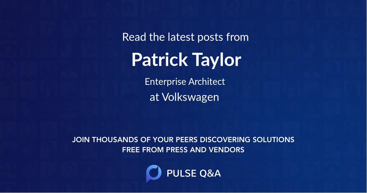 Patrick Taylor