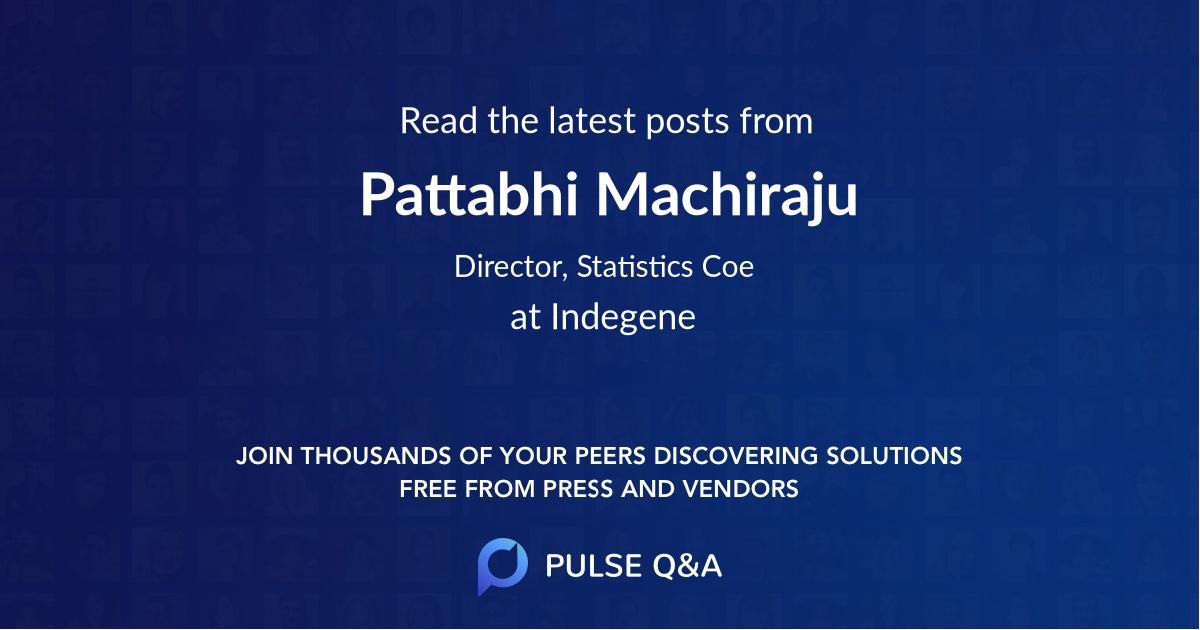 Pattabhi Machiraju