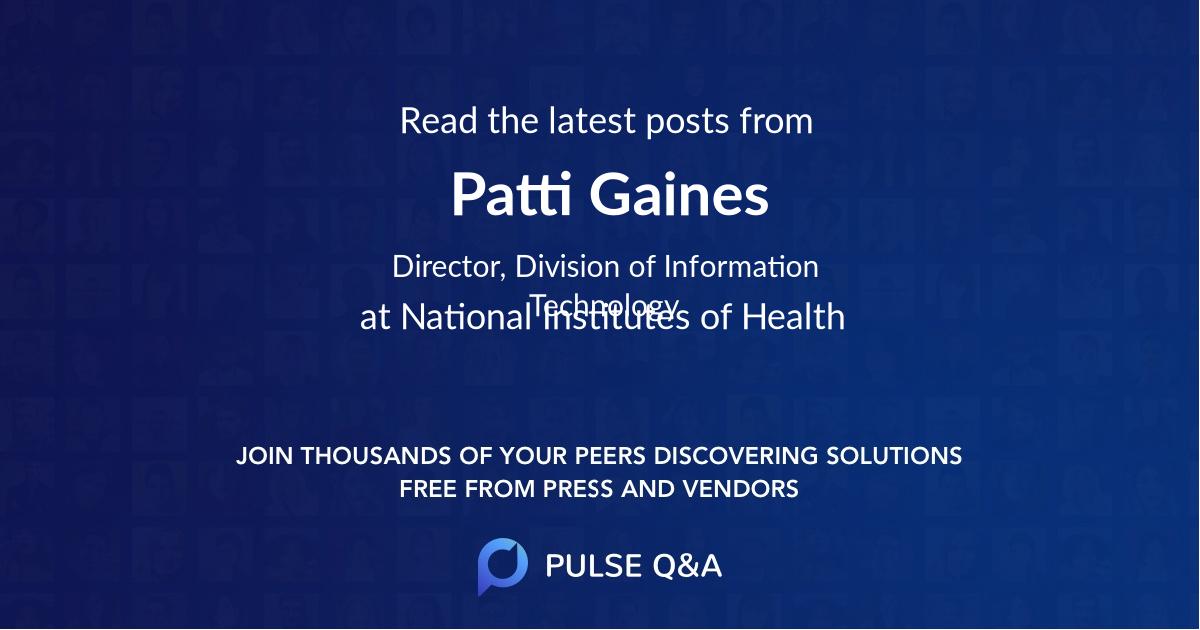 Patti Gaines