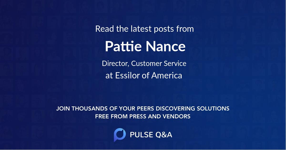 Pattie Nance
