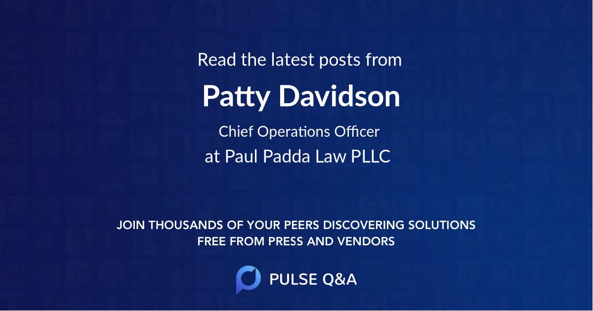 Patty Davidson