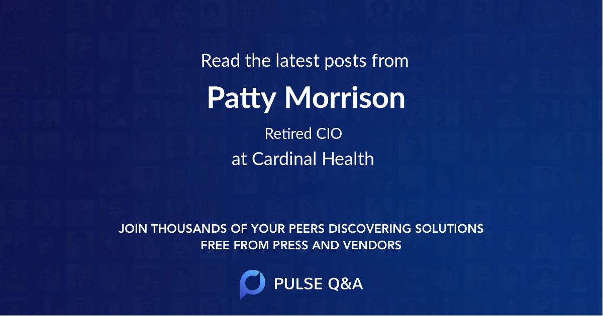 Patty Morrison