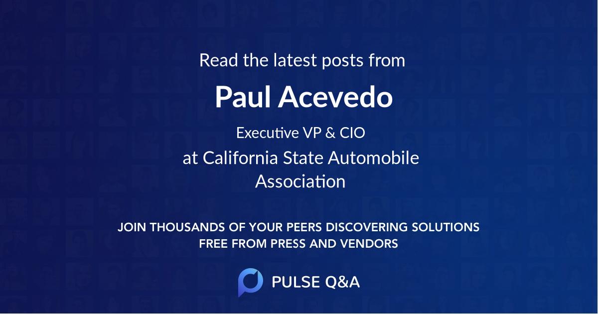 Paul Acevedo