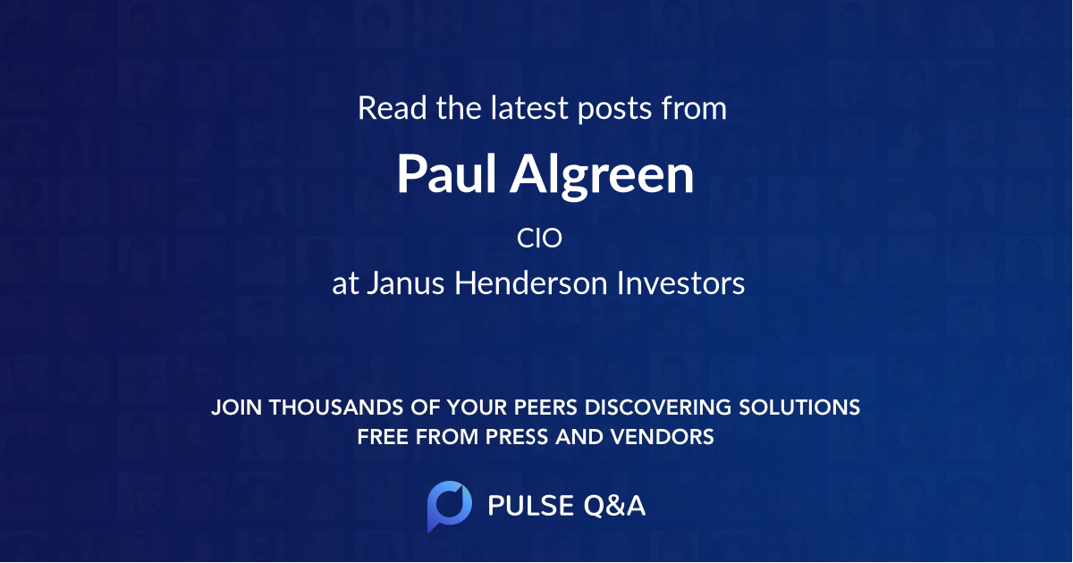 Paul Algreen