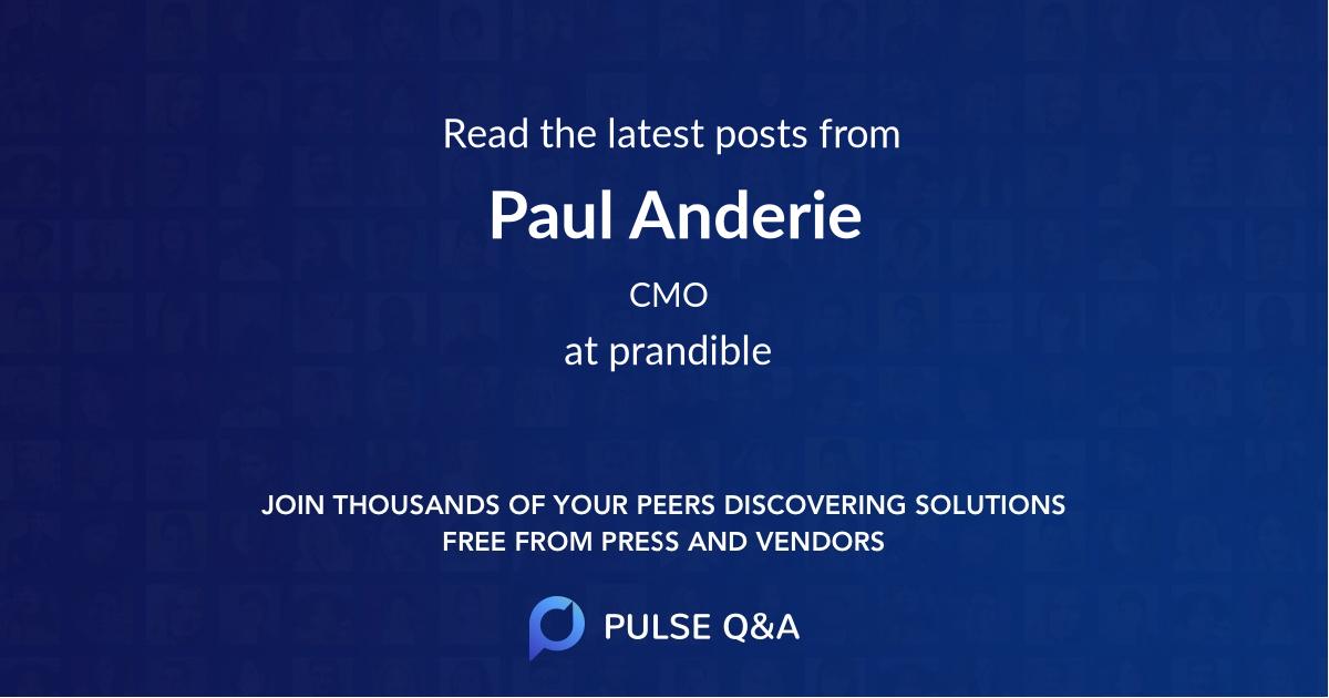 Paul Anderie