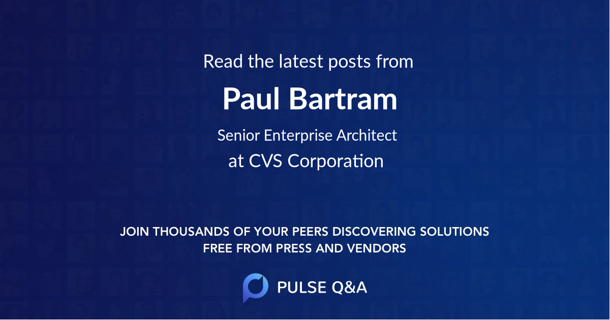 Paul Bartram