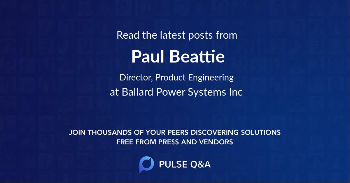 Paul Beattie