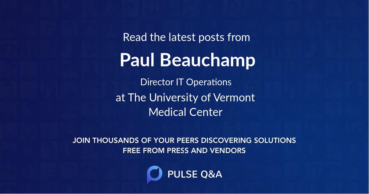 Paul Beauchamp