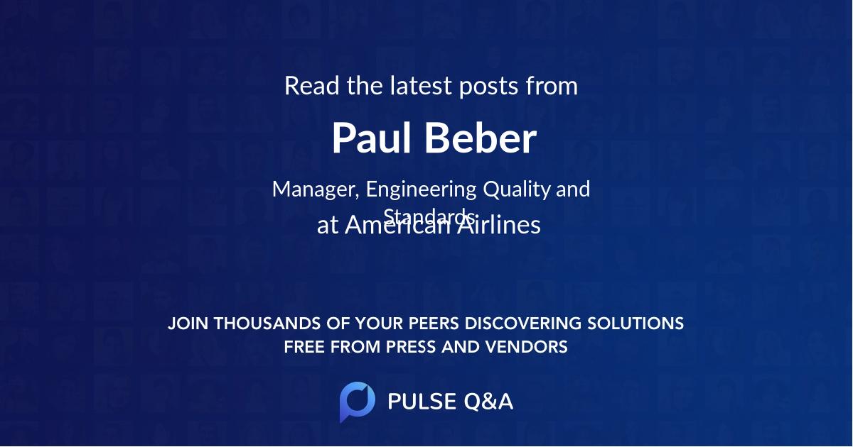 Paul Beber