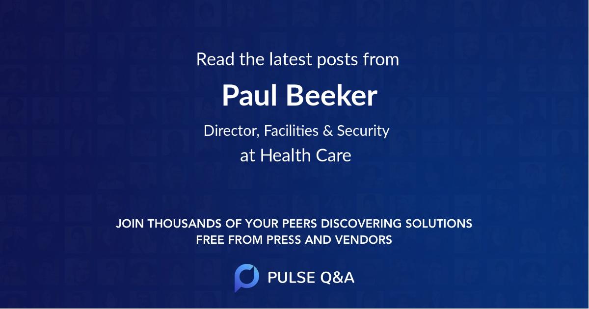 Paul Beeker