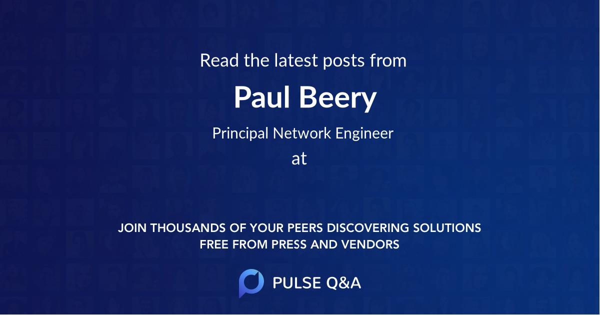 Paul Beery
