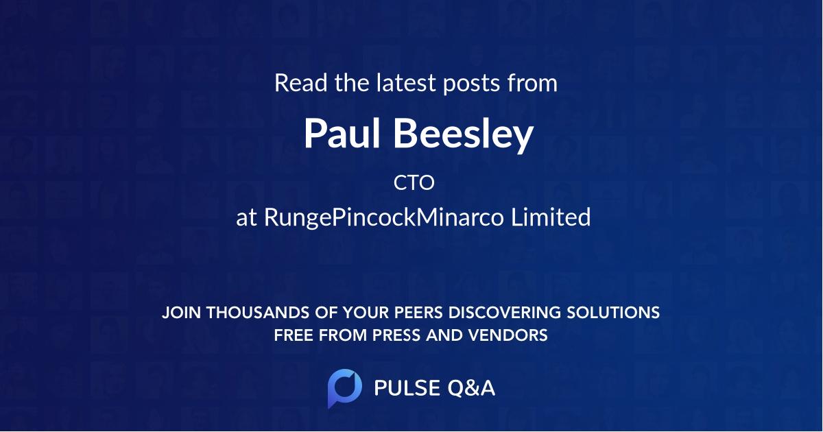 Paul Beesley