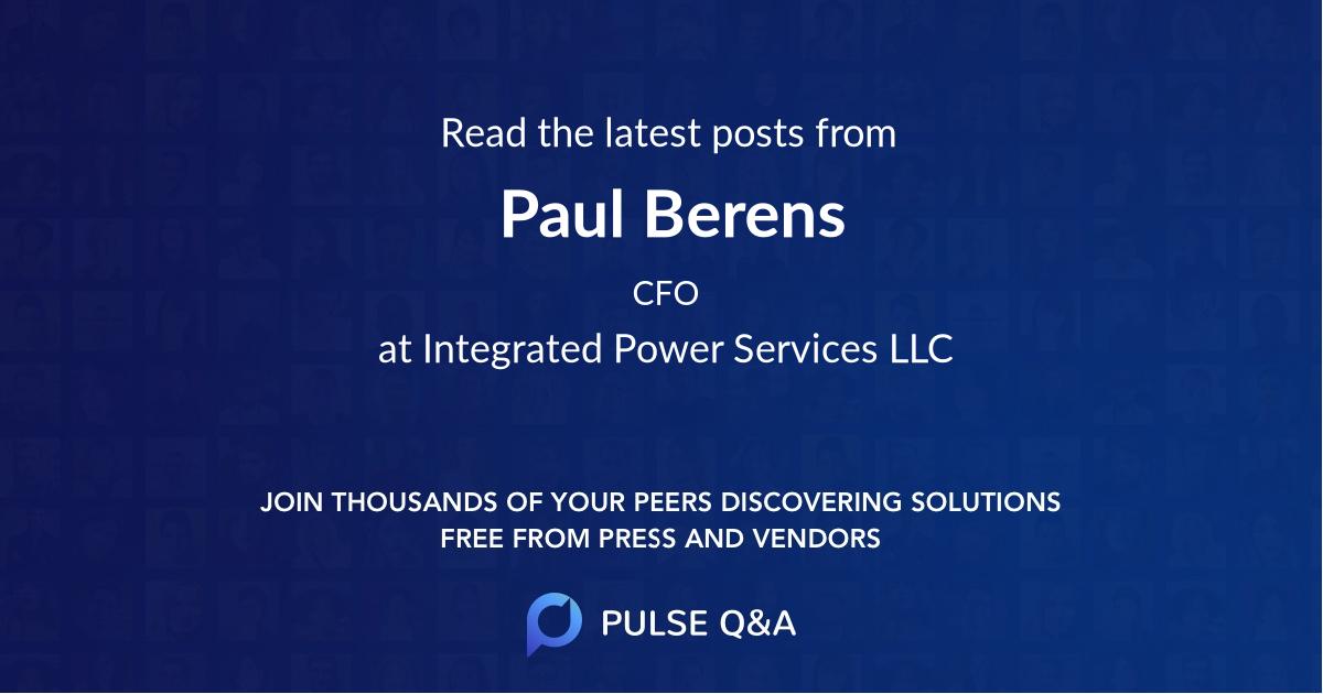 Paul Berens