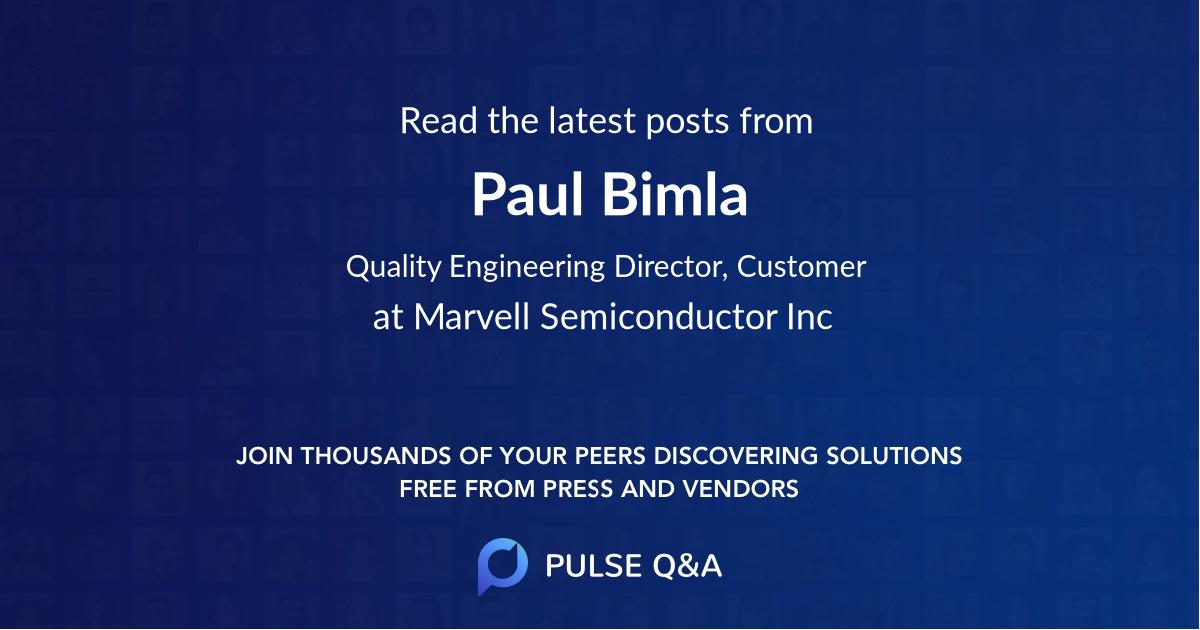 Paul Bimla