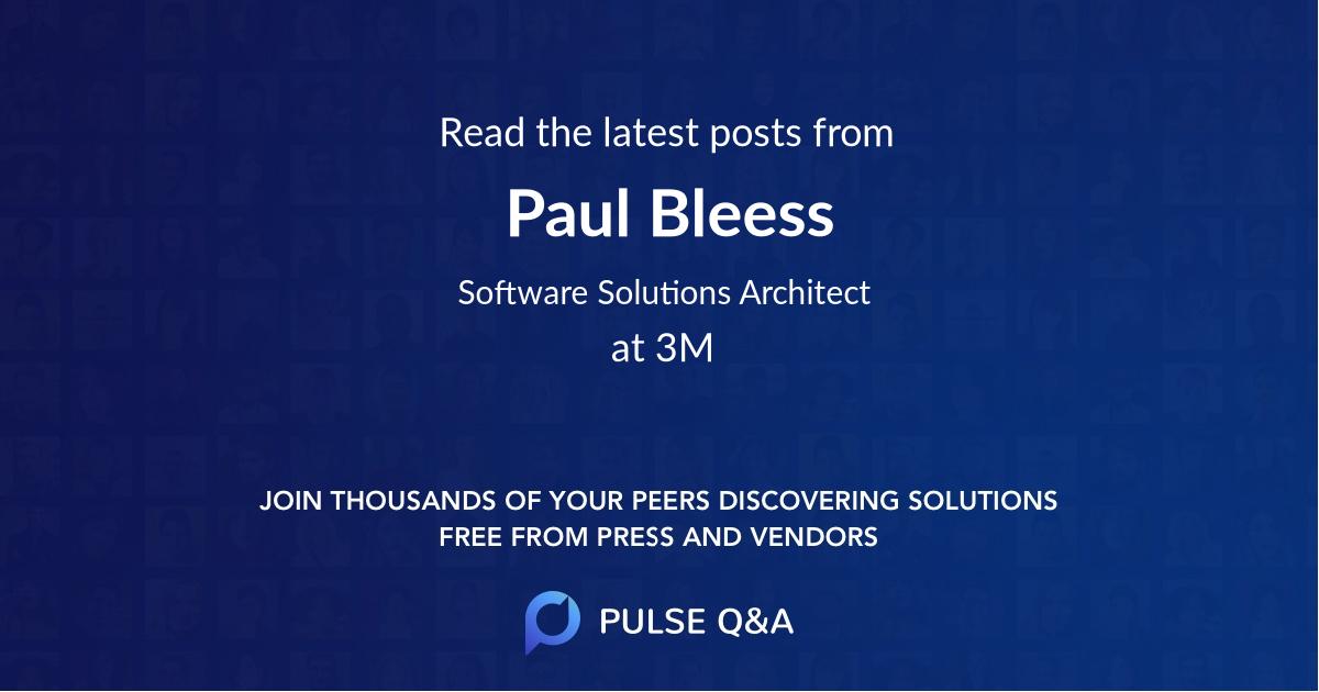 Paul Bleess