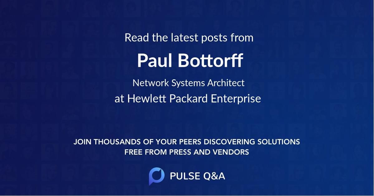 Paul Bottorff