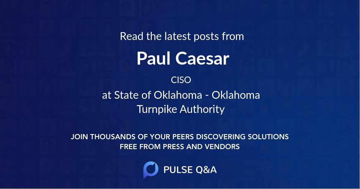Paul Caesar