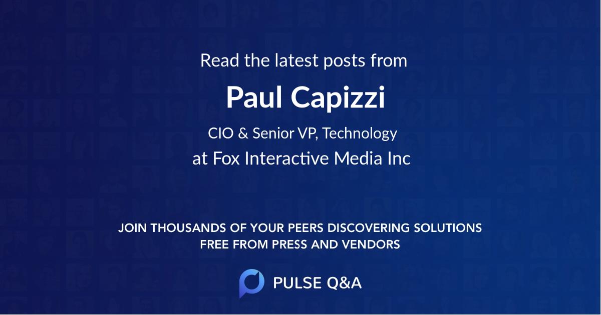 Paul Capizzi