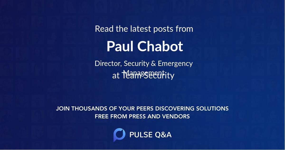 Paul Chabot