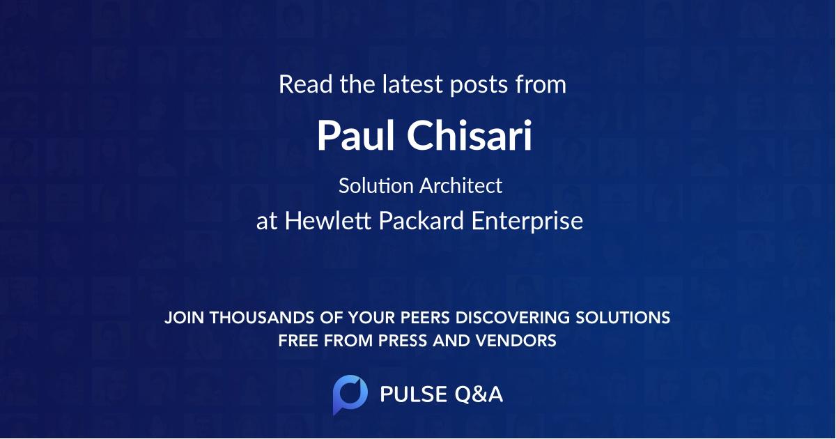 Paul Chisari