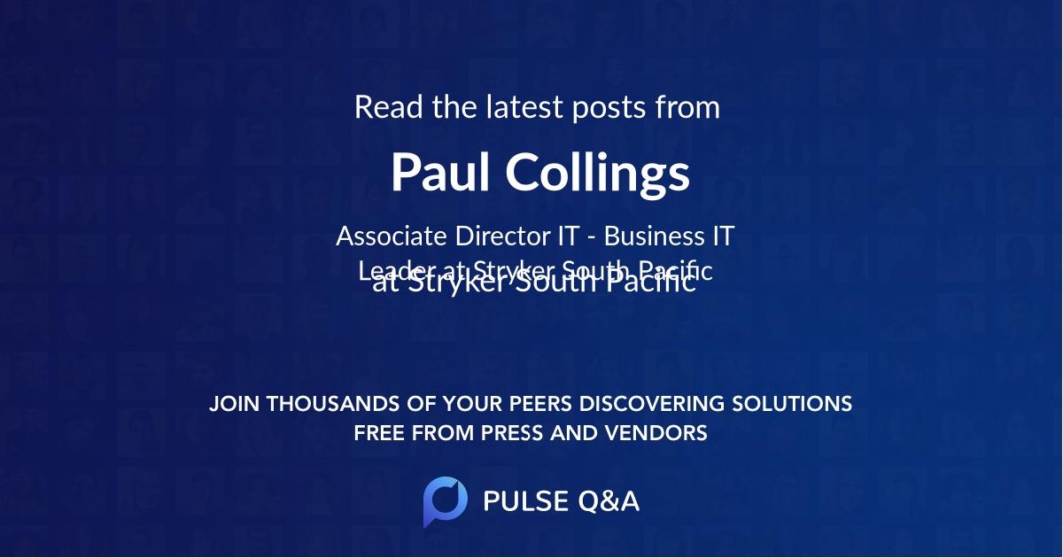Paul Collings