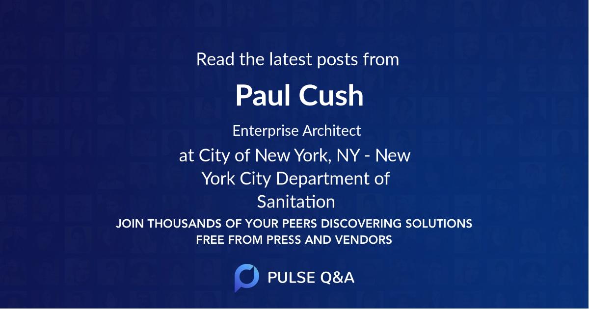 Paul Cush