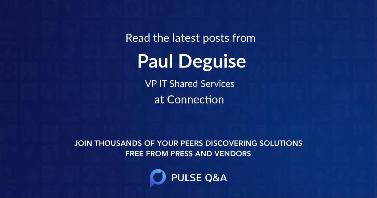 Paul Deguise