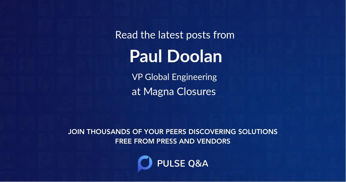 Paul Doolan