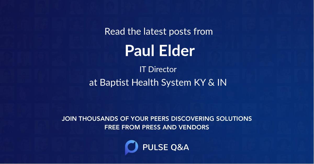 Paul Elder